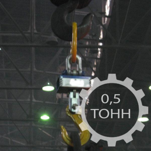 Электронные крановые весы ВКР-0,5Т с радиоканалом и термозащитой грузоподъемностью 500 кг