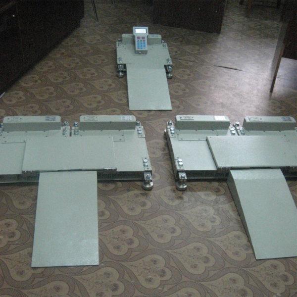 Авиационные платформенные весы ВАТ-3РП с радиоканалом рис1