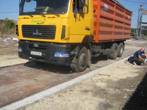 Весы автомобильные платформенные тензометрические ВАПТ-60 грузоподъемностью 60 тонн (взрывозащищенные)