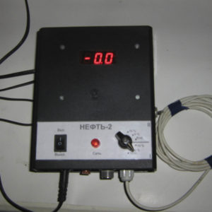 """Электронный измеритель влажности нефтепродуктов """"Нефть-2"""""""